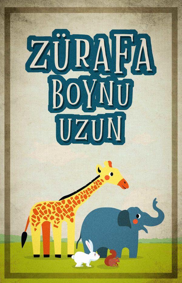 Zürafa Boynu Uzun
