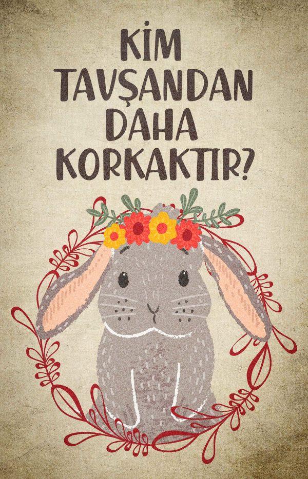 Kim Tavşandan Daha Korkaktır