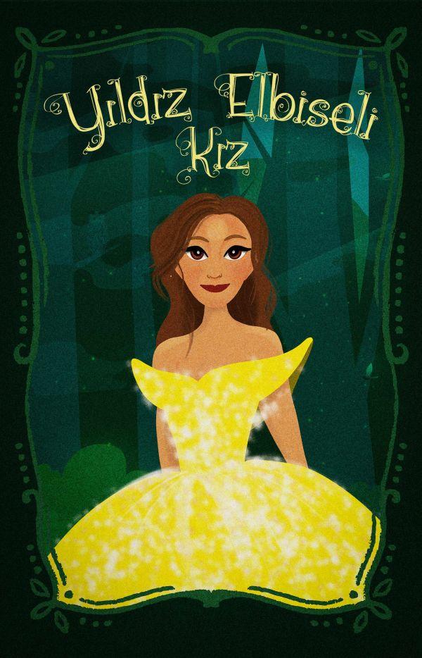 Yıldız Elbiseli Kız