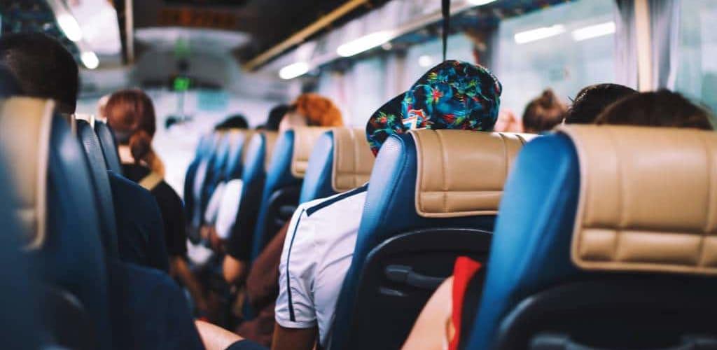 viajar en autobús