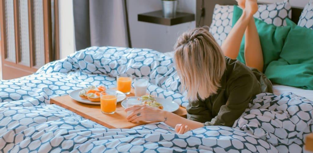 Fotos desayuno en la cama