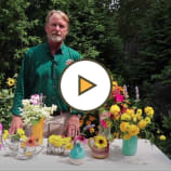 Creating Arrangements with Fresh Cut Garden Flowers