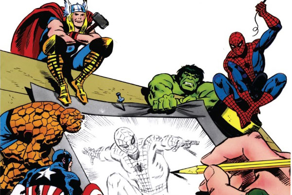como desenhar heróis da marvel como desenhar bem