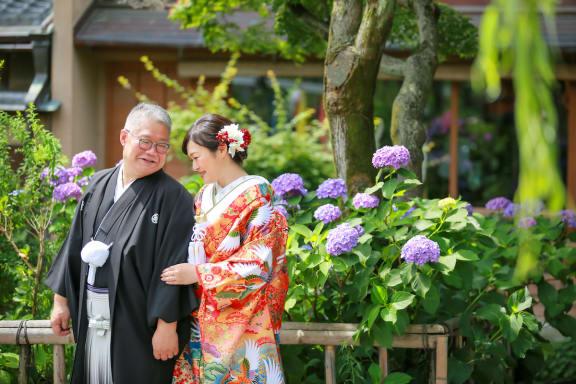 京都・祇園で和装フォトウェディング