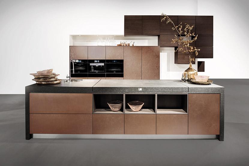 Picture: Bronze Mocha Oak, by Hacker Kitchens