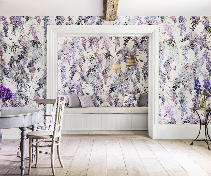 Decorating With Wallpaper: Tips U0026 Tricks