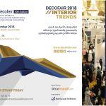 "DecoFair 2018 ""10th Edition"" – Saudi Arabia's Exclusive International Design Trade Exhibition"