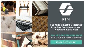 FIM –  The Middle East's first dedicated interiors manufacturing and components exhibition