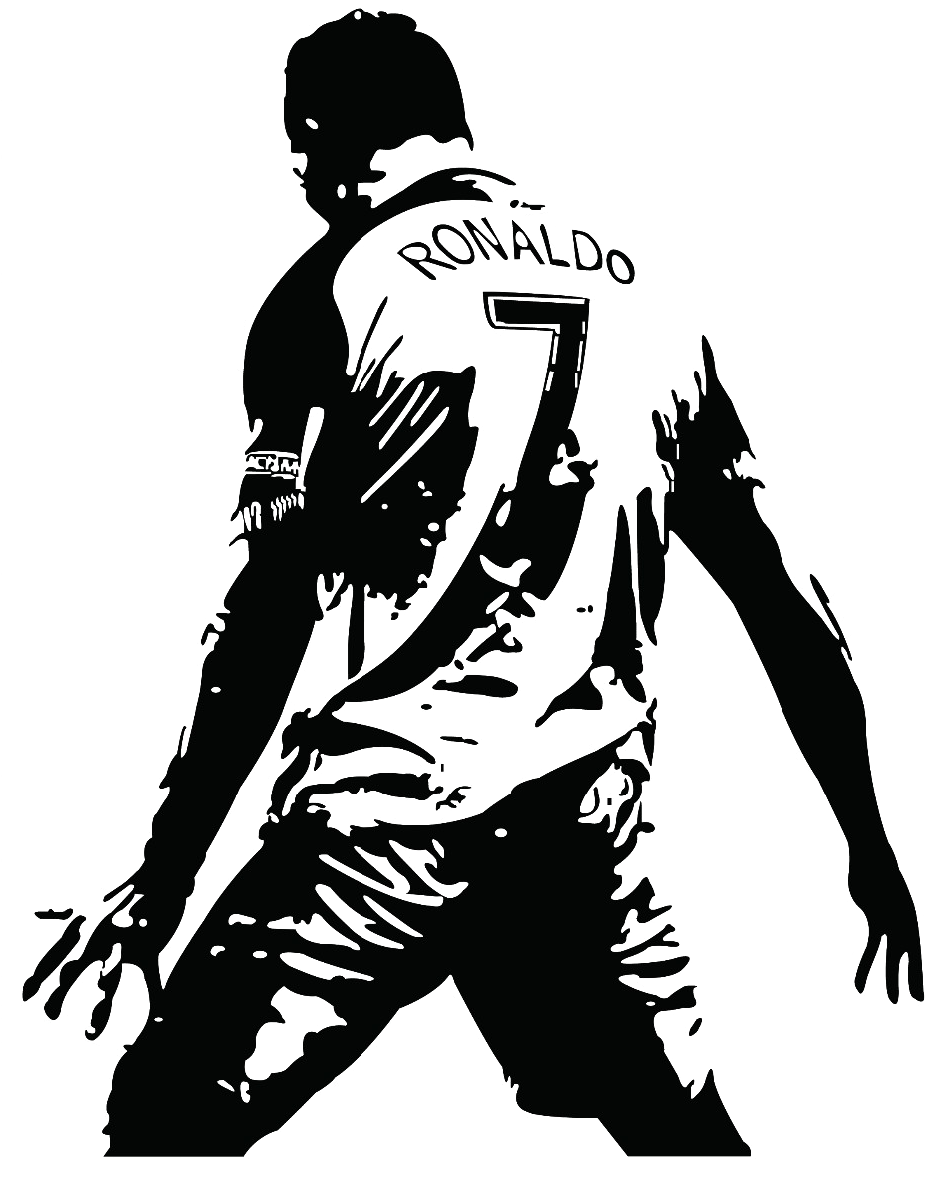 Decor manzil for Cristiano ronaldo wall mural