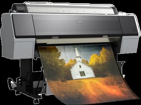 Epson Stylus pro printing process