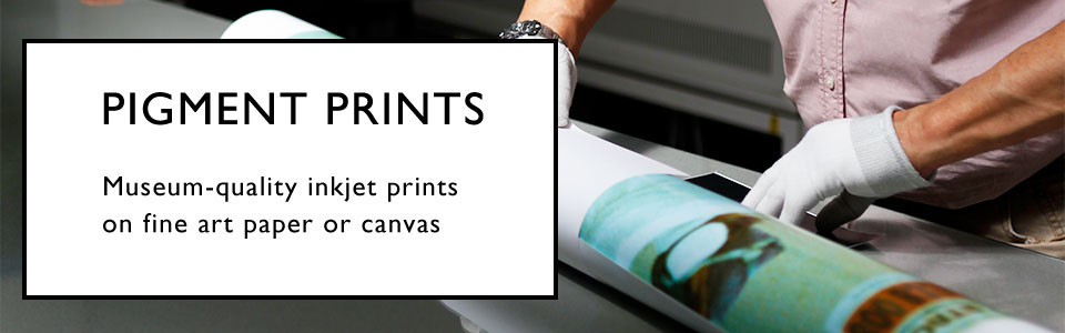 Custom Pigment Giclee Inkjet Printing