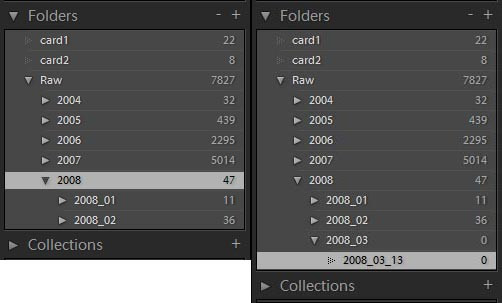 Lightroom List Boxes