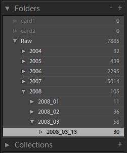 Lightroom List Box