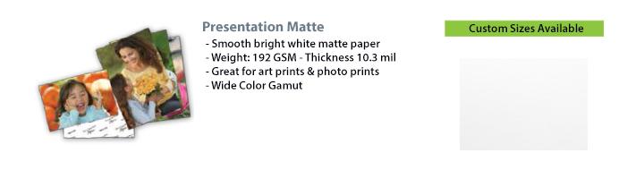 Presentation Matte