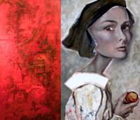 Perceptions by Carol Clendening + Jennifer Mujezinovic, Artists   gallery406