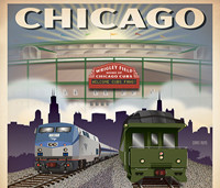 Indiana Railroad Posters by Chris Rund, Illustrator / Graphic Designer   gallery406