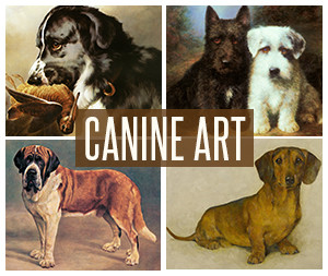 Shop for Dog Art Posters and Prints