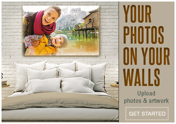 Upload your photos and art and have them printed