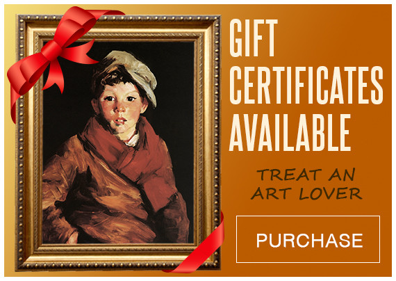 Gift certificates to purchase framed artwork prints