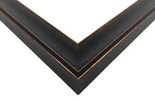 Bronze Scoop Picture Frame