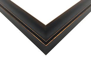 Bronze Scoop Picture Frame