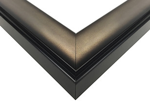 Contemporary Dark Pewter Picture Frame