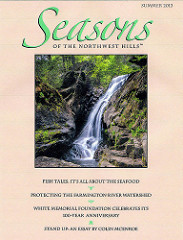 Seasons of the Northwest Hills magazine/Thomas Schoeller published for cover image