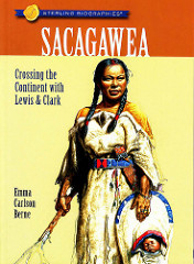 "Published book titled ""Sacagawea-Crossing the Continent with Lewis & Clark""  Bitteroot Mountain image © Thomas Schoeller Photography"