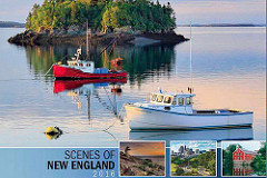 Thomas Schoeller published for Scenes of New England calendar