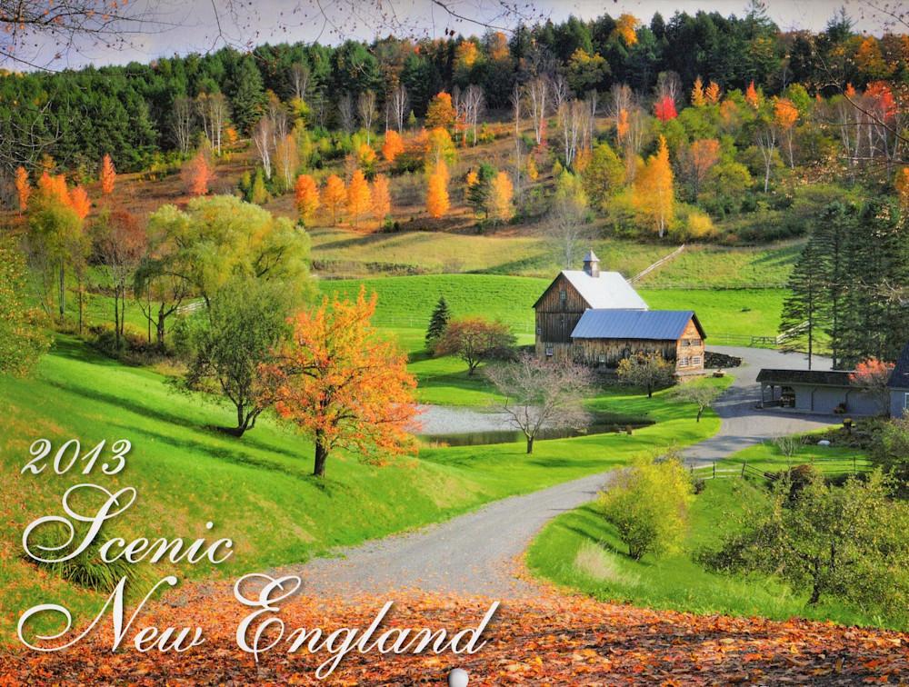 Thomas Schoeller New England Scenics 2013 calendar cover shot