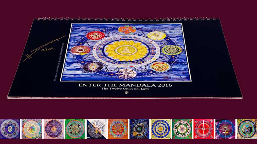 photo of mandala calendar