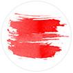 View red art prints
