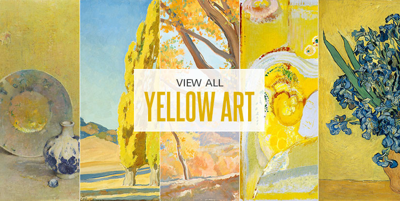 Examples of mostly yellow artwork