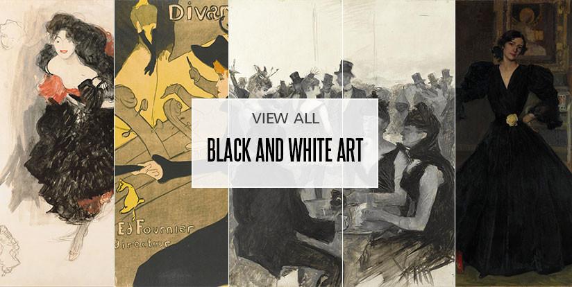 Examples of black & white artwork