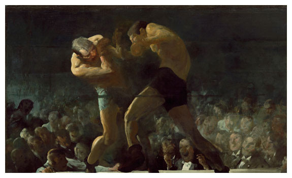 Club Night by George Bellows