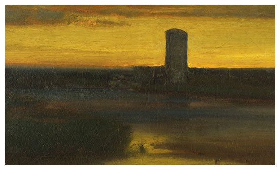 The After Glow, Italy by George Inness