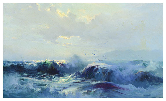 Seascape by Sydney Laurence
