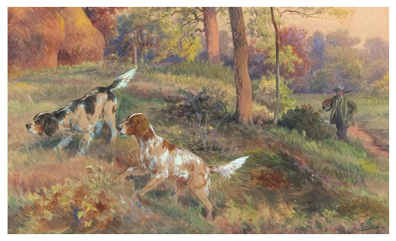 Fall Hunting by Edmund Henry Osthaus