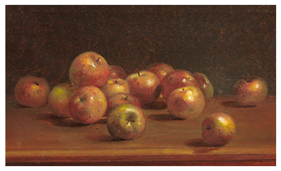 Still Life with Apples 1886 by Charles Ethan Porter