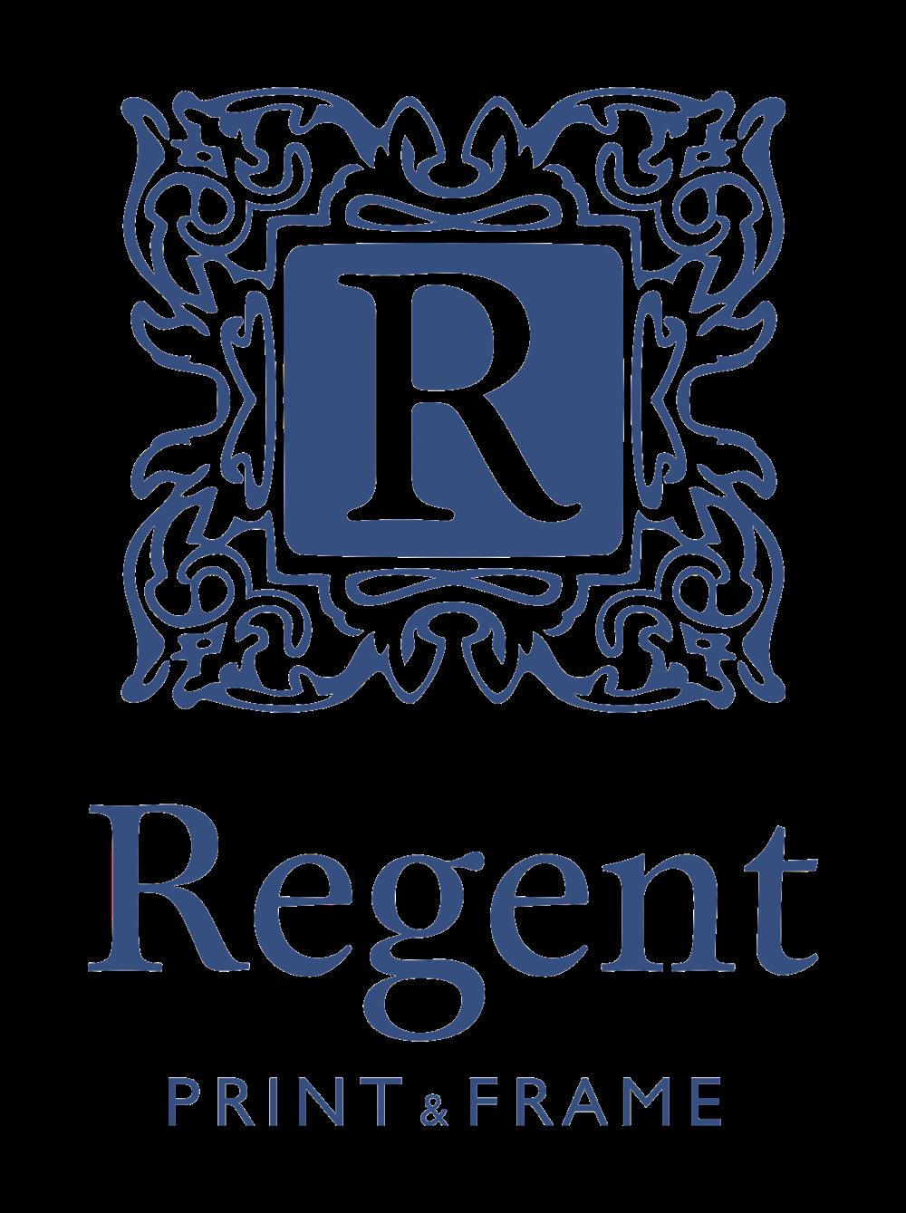 Regent Print & Frame, Leamington Spa, logo