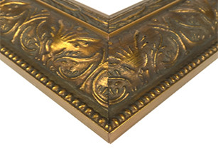 Traditional Carved Gold
