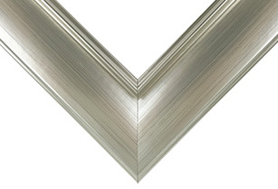 Contemporary Silver Picture Frame