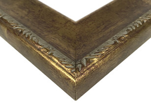 Antique Gold Scoop Picture Frame
