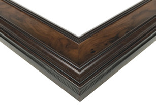 Walnut Burlwood Picture Frame