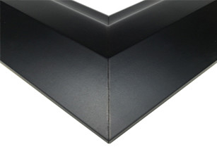 Modern Satin Black Picture Frame