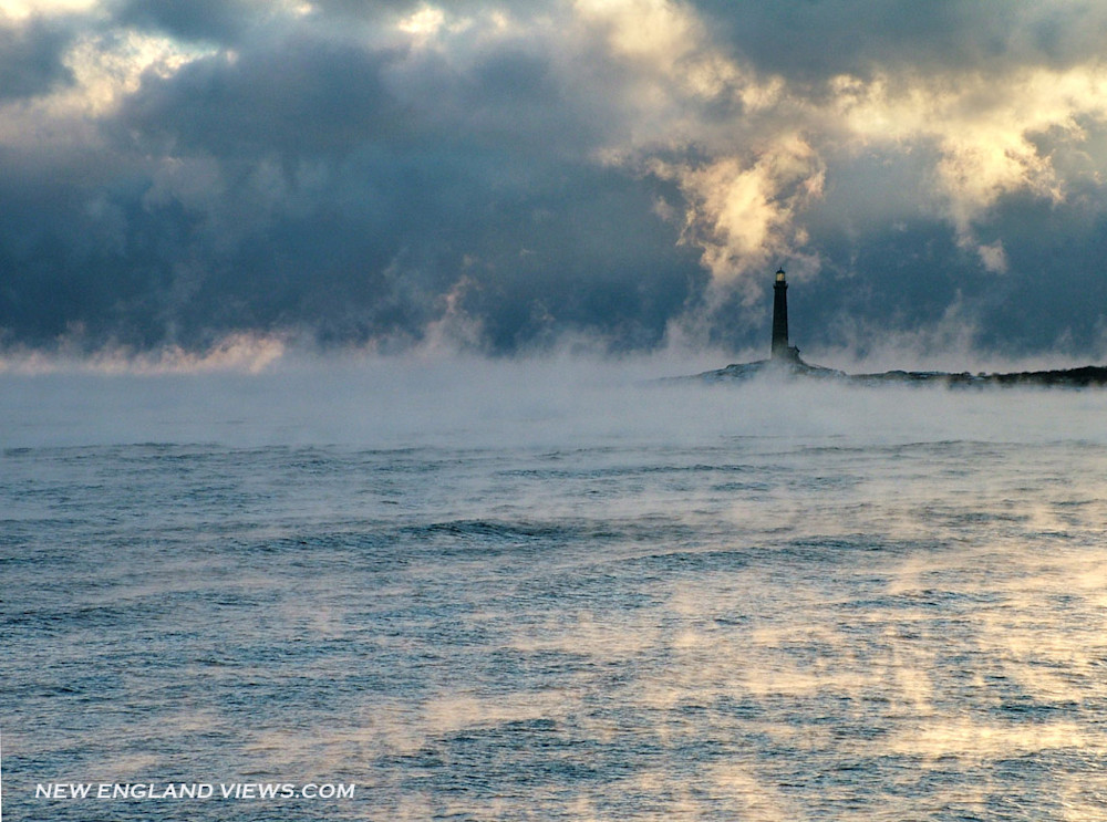 Thatcher's Island, Sea Smoke, Rockport, Twinlights