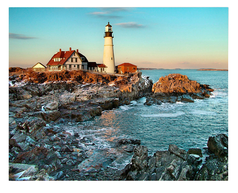 Portland Headlight Lighthouse, New England Views Photography