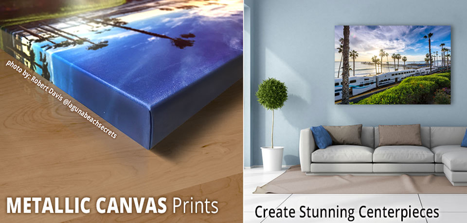 Photos On Metallic Canvas Printing Gallery Wraps Stretch Canvas