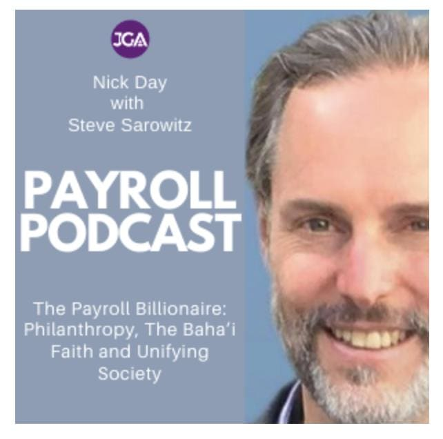 Payroll Podcast with Payescape Co-founder Steve Sarowitz