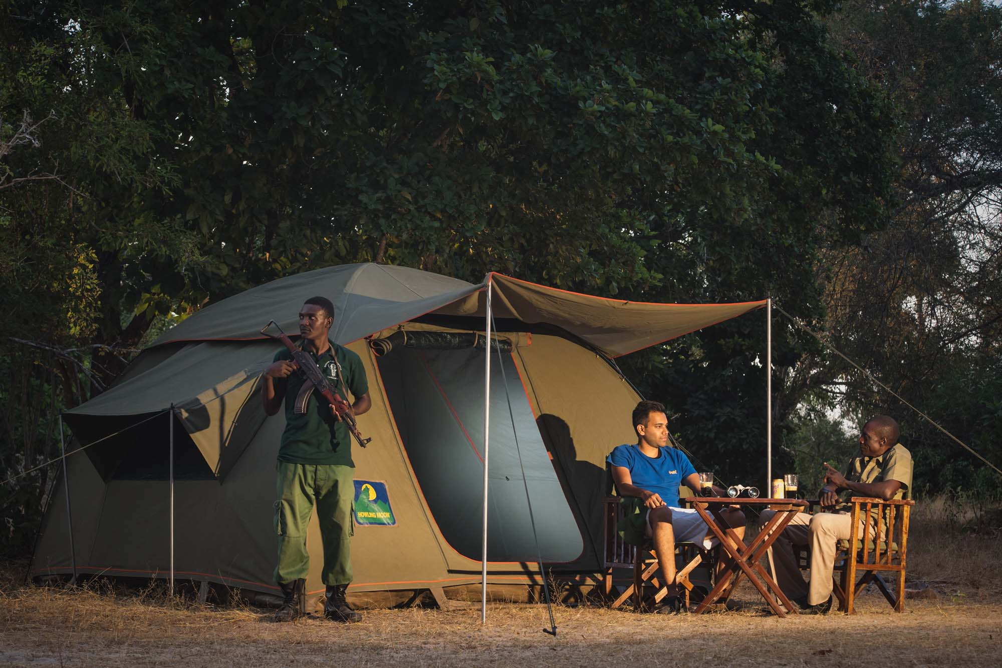 camping with a ranger selous game reserve msafiri travels